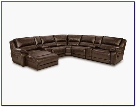 leather reclining sectional with chaise leather reclining sectional sofa with chaise sofas