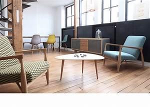 Table Salon Scandinave : table design table basse small red edition red edition ~ Teatrodelosmanantiales.com Idées de Décoration