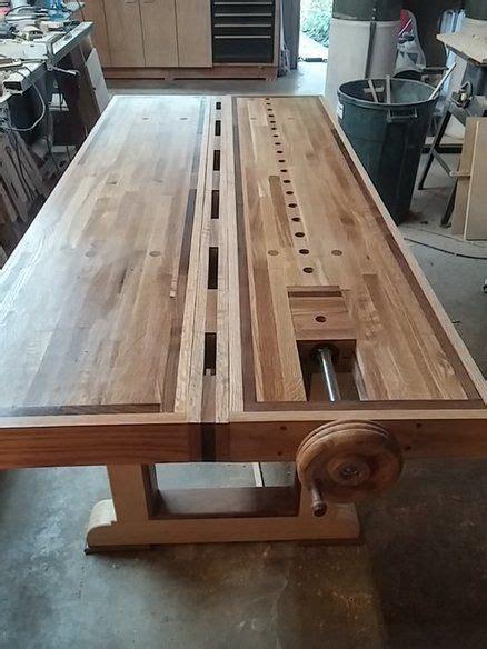 roubo split top bench workbench ideas pinterest