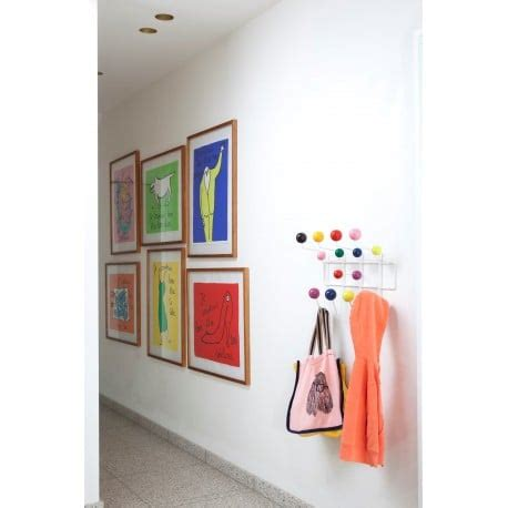 Hang It All by Buy Vitra Hang It All Coat Rack Multicolor By Charles
