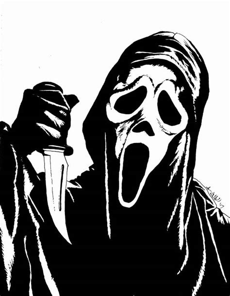 Michael Myers Drawing at GetDrawings   Free download