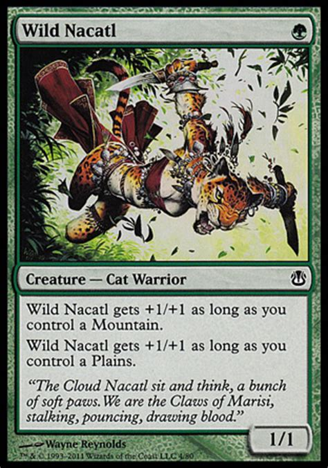 Cat Deck Mtg 2017 by Awesome 1 Mana Creatures Part 3 Green Crooked Glasses
