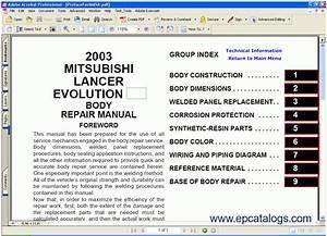 Free Online Mitsubishi Repair Manuals