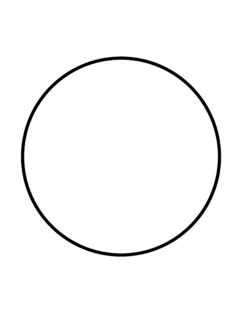 Circle Clipart Black And White Circle Clip 101 Clip