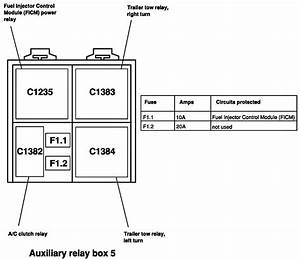 Where Is Relay Fic Relay On 04 F250 Diesel