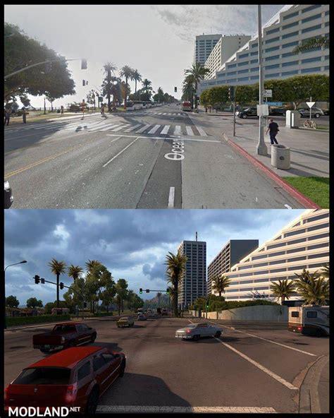 ats map  real life mod  american truck simulator ats