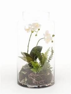 Orchideen Im Glas : phalaenopsis mini garten 40 cm orchideen kunstpflanze im ~ A.2002-acura-tl-radio.info Haus und Dekorationen