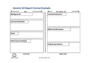 Test Plan Template Excel Patterns Of Kaizen A3 Thinking