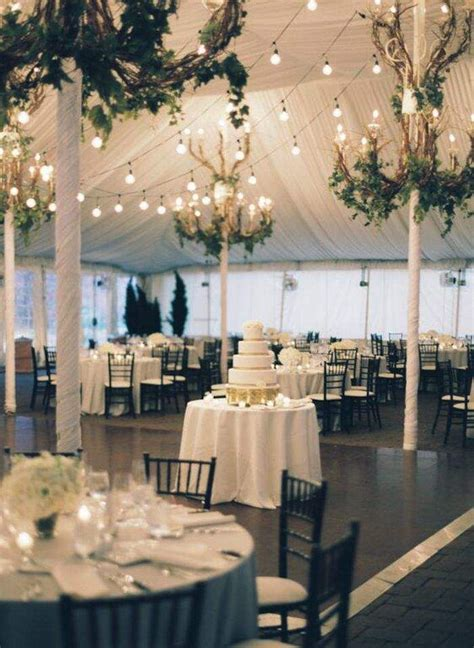 wedding reception ideas with elegance tent wedding