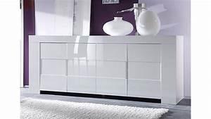 Sideboard Badezimmer Weiß : sideboard eos wei echt hochglanz lackiert 210 cm breit ~ Markanthonyermac.com Haus und Dekorationen