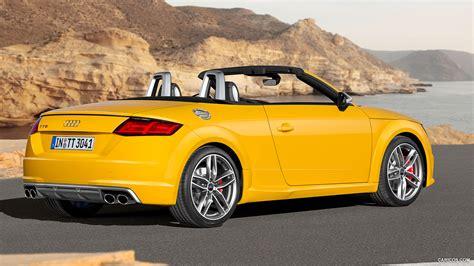 audi tt roadster yellow  hd desktop wallpapers  hd