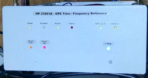 Gps Time Base Frequency