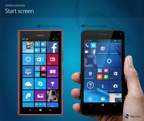 in pictures comparing windows phone 8 1 and windows 10 mobile side by side neowin