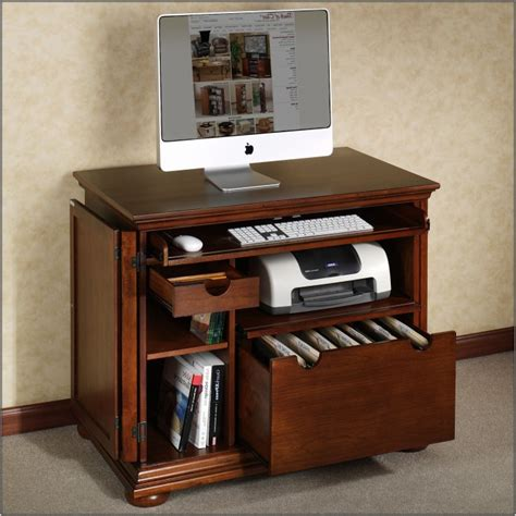 Narrow Computer Desk With Shelves by Narrow Computer Desk Wood Page Home Design