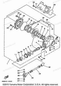 Yamaha Atv 1996 Oem Parts Diagram For Drive Shaft