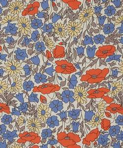 """The """"Poppy and Daisy"""" pattern, one of the iconic Liberty ..."""
