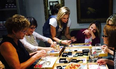 glass  jewelry making classes  creating spot groupon