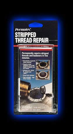 stripped thread repair  oz net wt kit permatex