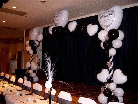 black and white party table centerpieces wedding table decorations black and white nice decoration