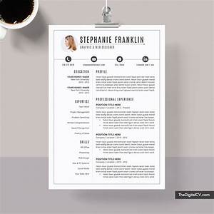 Technical Resume Skills Clean Cv Template For Job Application Curriculum Vitae