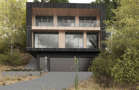 photo of sloping block designs ideas sloping block house designs sloping block builders