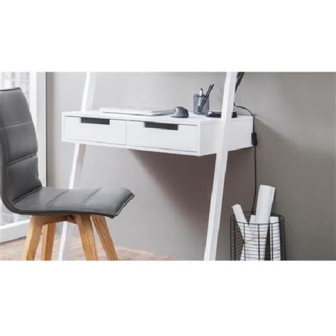 ladder style desk retro ladder style computer desk in white with 3625