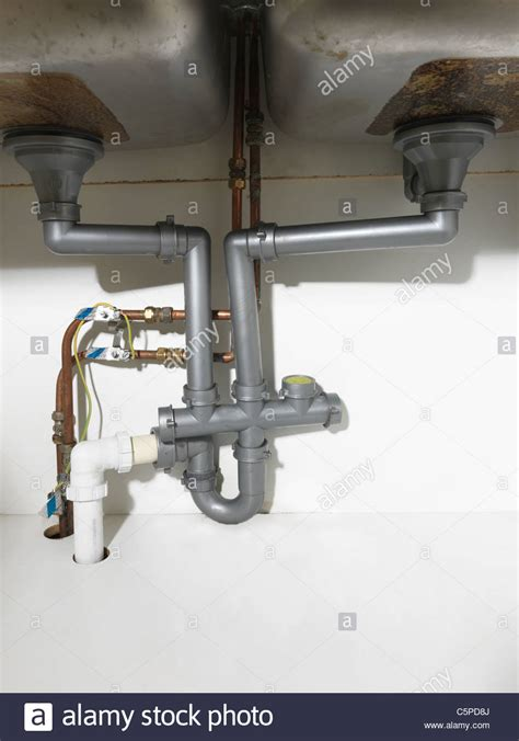 waste pipe  fittings   double kitchen sink