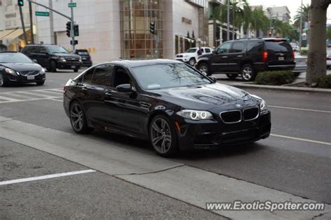 Bmw M5 Spotted In Beverly Hills, California On 09222012