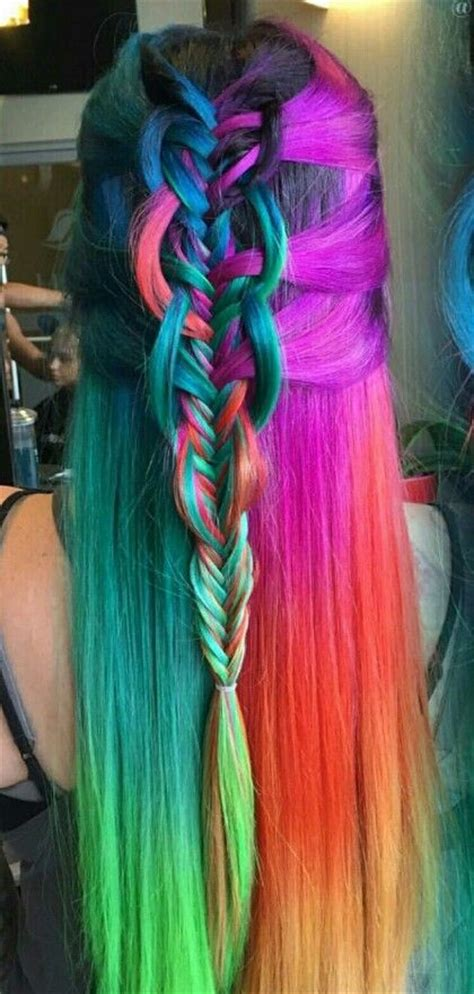 1708 Best Images About Rockin These Colorful Locks On