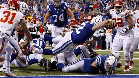 colts beat chiefs kc loses  consecutive playoff game