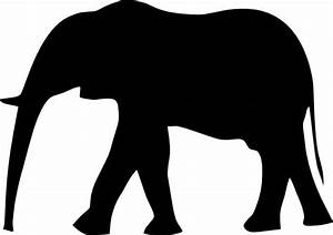elephant silhouette clip art Quotes