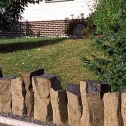 Gartengestaltung Mit Beton : gartengestaltung mit palisaden ~ Markanthonyermac.com Haus und Dekorationen