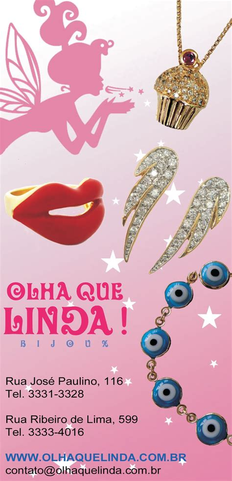 Olha Que Linda! Bijoux • Bom Retiro Na Moda