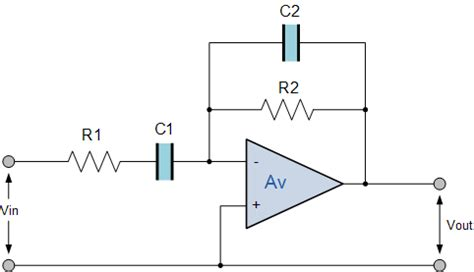 Band Pass How Choose Resistance Capacitance Value