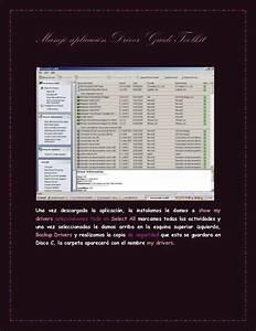 Trabajo Manejo Aplicaci U00f3n Driver Guide Toolkit