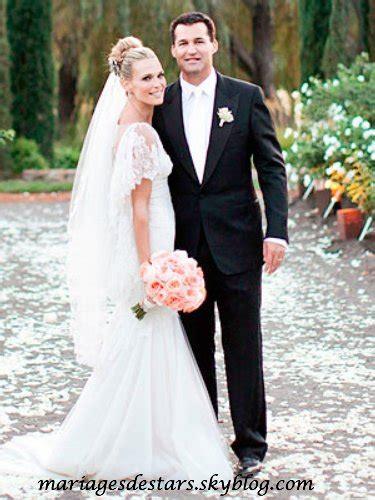 """foto de Articles de mariagesdestars taggés """"Molly Sims"""" Mariages"""