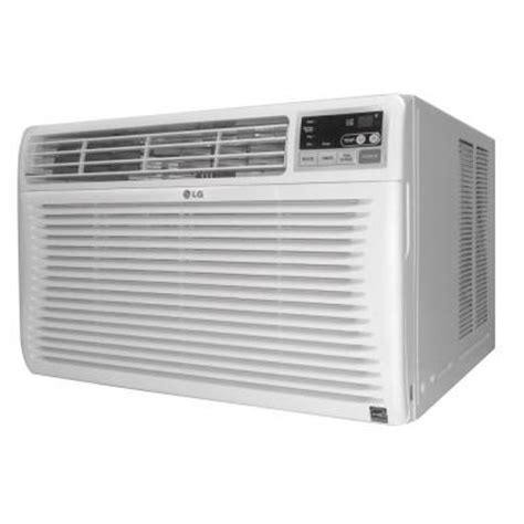 conditioners home depot lg electronics 10 000 btu 115 volt window air conditioner
