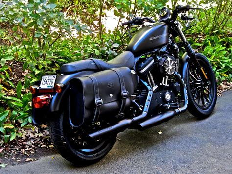 On A 48 Saddlebags The Sportster And Buell Motorcycle