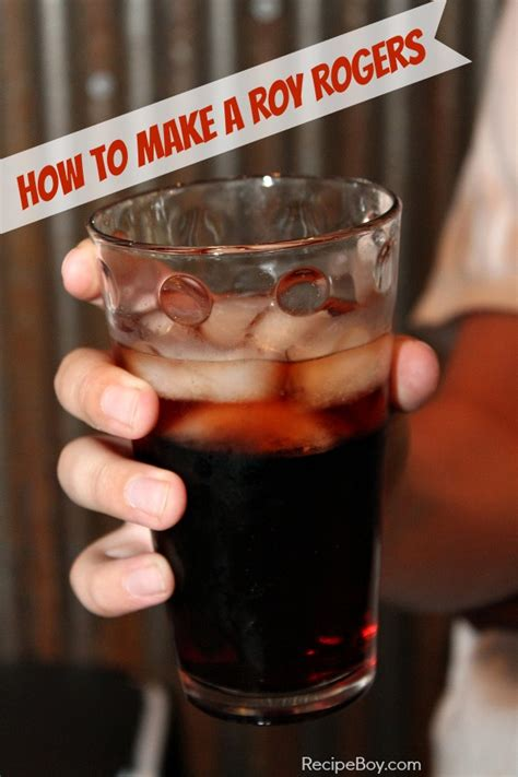roy rogers drink how to make a roy rogers recipeboy