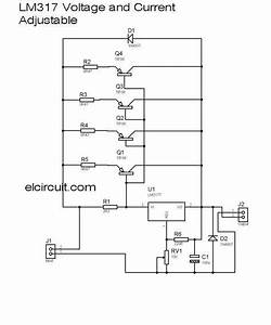 10a Lm317 Adjustable Power Supply And Current Booster In