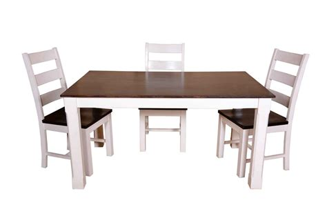 Buy 6 Seater Chnky Dining Table Set