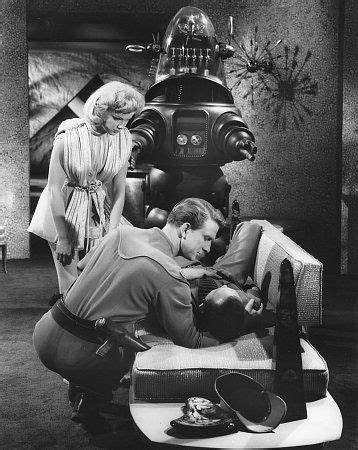 leslie nielsen space movie ann francis leslie nielsen in forbidden planet 1956