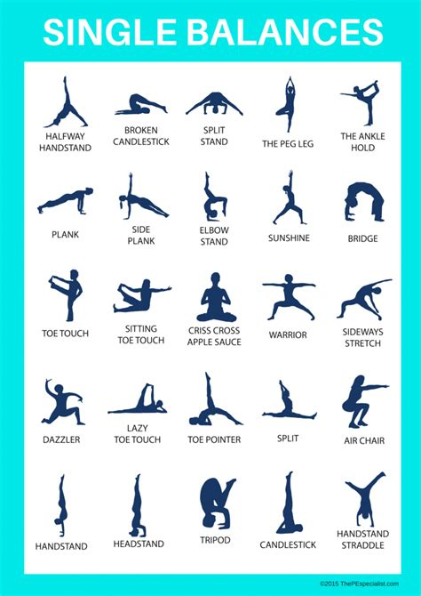 how to teach gymnastics in physical education 897 | Single Balances Poster 1 1 724x1024