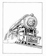 Coloring Train Steam Engine Trains Printable Locomotive Sheets Pages Hogwarts Colouring Drawing Drawings Railroad Books History Different Engines Activity Adult sketch template