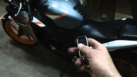 cyclone v2 motorcycle talking alarm system preview mp4