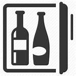 Minibar Icon Refrigerator Mini Bar Drinks Icons