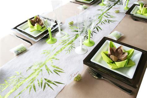 deco de table zen marque place theme exotique et bambou id 233 al pour une d 233 coration de table zen naturel ou