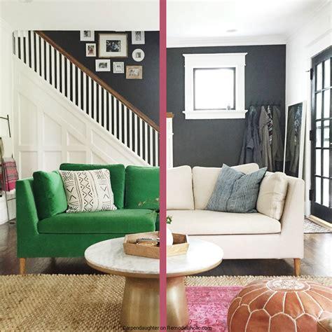 custom ikea slipcovers remodelaholic easily change a room with a custom ikea
