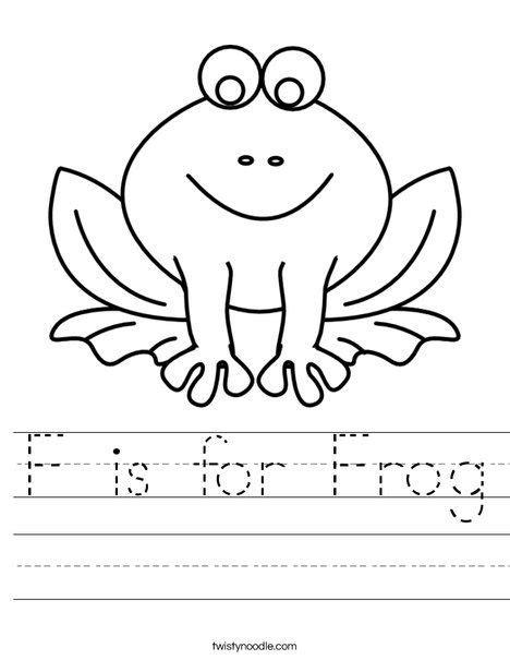 frog worksheet frogs preschool frog activities