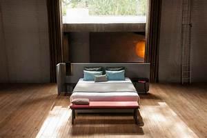 Paravent Tete De Lit : lit area avec t te de lit paravent par alain gilles ~ Preciouscoupons.com Idées de Décoration
